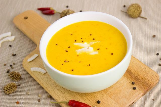 zupa kokosowo-imbirowa