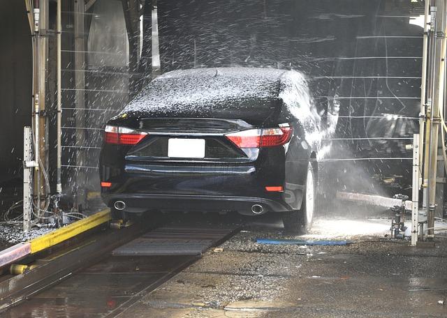 myjnia samochodowa bezdotykowa