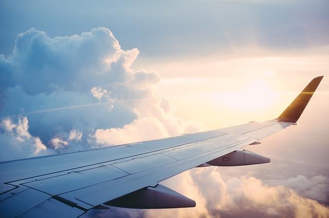 Komfort podróży samolotem