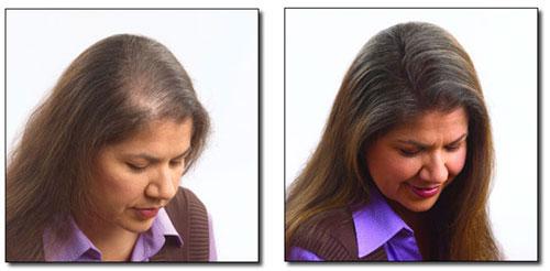 Zagęszczanie włosów